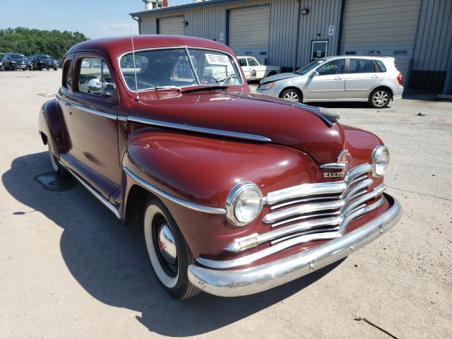 Plymouth salvage cars for sale: 1948 Plymouth Special DX