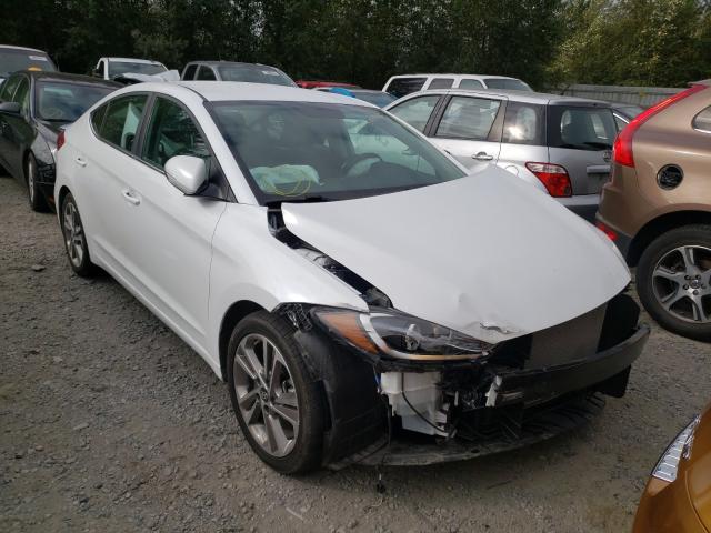 Vehiculos salvage en venta de Copart Arlington, WA: 2018 Hyundai Elantra SE