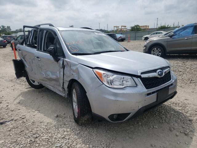 Salvage cars for sale from Copart Kansas City, KS: 2016 Subaru Forester 2