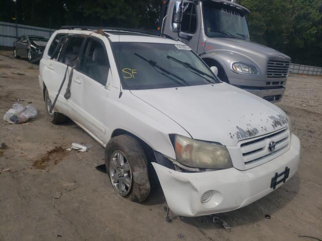 Salvage cars for sale from Copart Austell, GA: 2004 Toyota Highlander