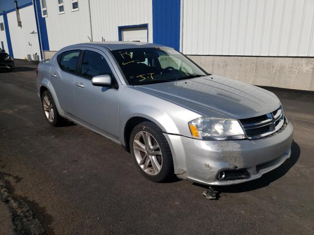Salvage cars for sale at Moncton, NB auction: 2011 Dodge Avenger MA