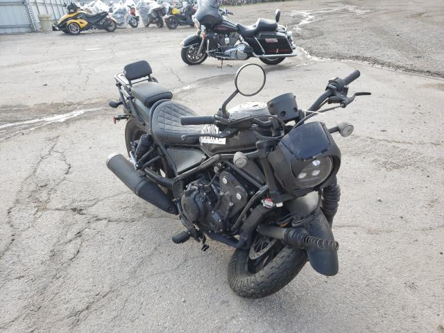 Salvage motorcycles for sale at Elgin, IL auction: 2021 Honda CMX500 A2