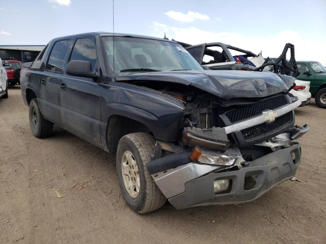 Chevrolet salvage cars for sale: 2004 Chevrolet Avalanche