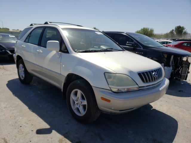 Salvage cars for sale from Copart Tulsa, OK: 2002 Lexus RX 300