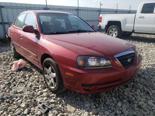 Salvage cars for sale at Appleton, WI auction: 2005 Hyundai Elantra GL