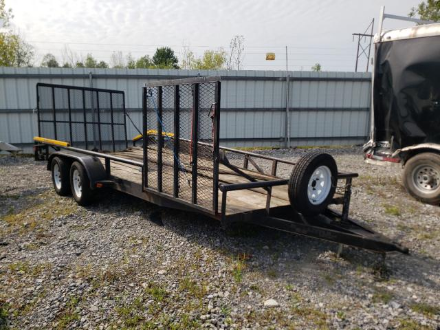 Salvage cars for sale from Copart Leroy, NY: 2004 Doolittle Utility Trailer