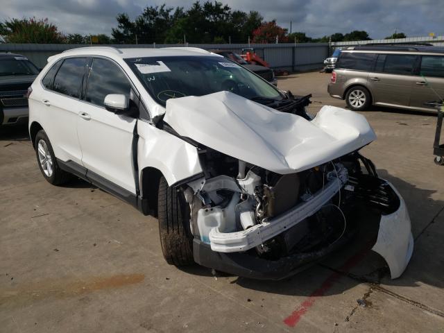Vehiculos salvage en venta de Copart Wilmer, TX: 2020 Ford Edge SEL