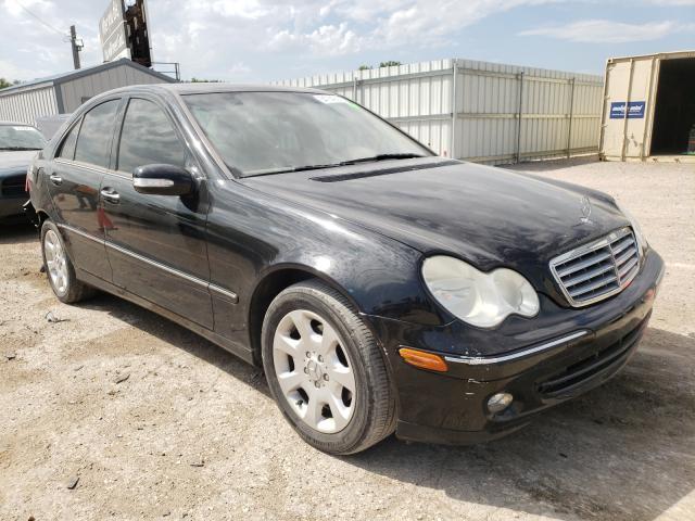 Vehiculos salvage en venta de Copart Wichita, KS: 2005 Mercedes-Benz C 240