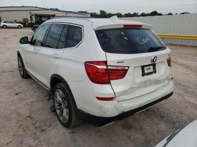 2017 BMW X3 SDRIVE2 5UXWZ7C3XH0V90295