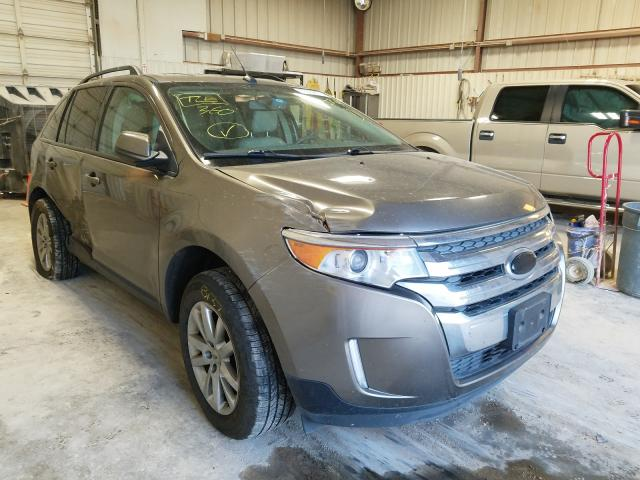 Salvage cars for sale from Copart Abilene, TX: 2014 Ford Edge SEL
