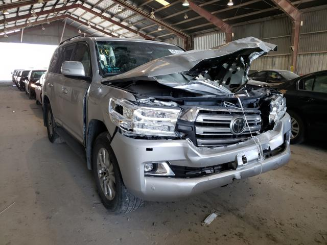 Toyota salvage cars for sale: 2018 Toyota Land Cruiser