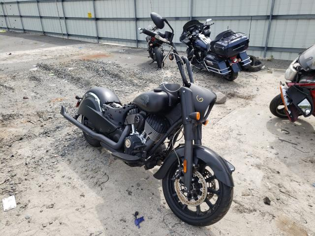 Salvage cars for sale from Copart Savannah, GA: 2018 Indian Motorcycle Co. Chief Dark