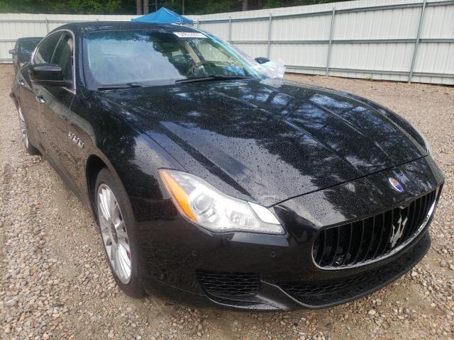 Maserati Quattropor salvage cars for sale: 2014 Maserati Quattropor