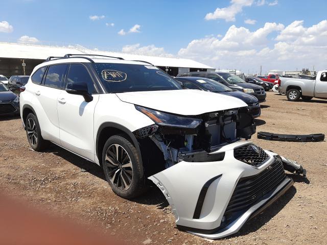Salvage cars for sale at Phoenix, AZ auction: 2021 Toyota Highlander