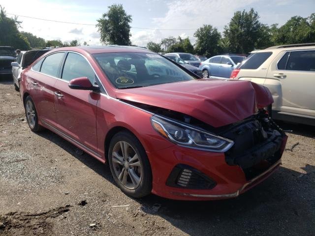 Salvage cars for sale from Copart Baltimore, MD: 2018 Hyundai Sonata Sport