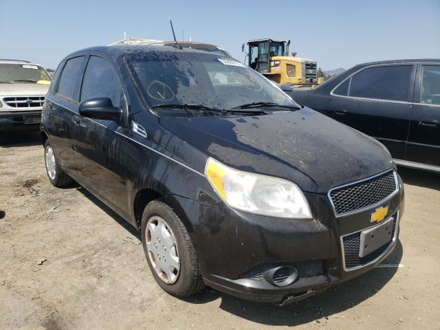 Salvage cars for sale from Copart San Martin, CA: 2009 Chevrolet Aveo LS