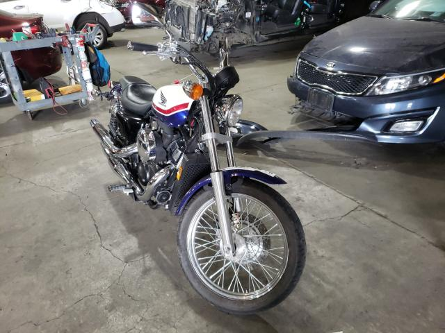 Salvage motorcycles for sale at Woodburn, OR auction: 2011 Honda VT750 RS