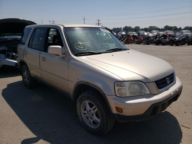 Salvage cars for sale at Nampa, ID auction: 2001 Honda CR-V SE
