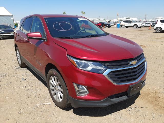 Salvage cars for sale from Copart Phoenix, AZ: 2018 Chevrolet Equinox LT