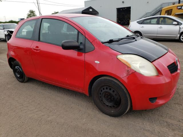 Salvage cars for sale at Montreal Est, QC auction: 2007 Toyota Yaris