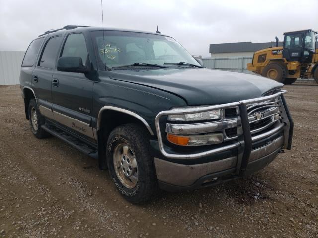 Vehiculos salvage en venta de Copart Bismarck, ND: 2002 Chevrolet Tahoe K150