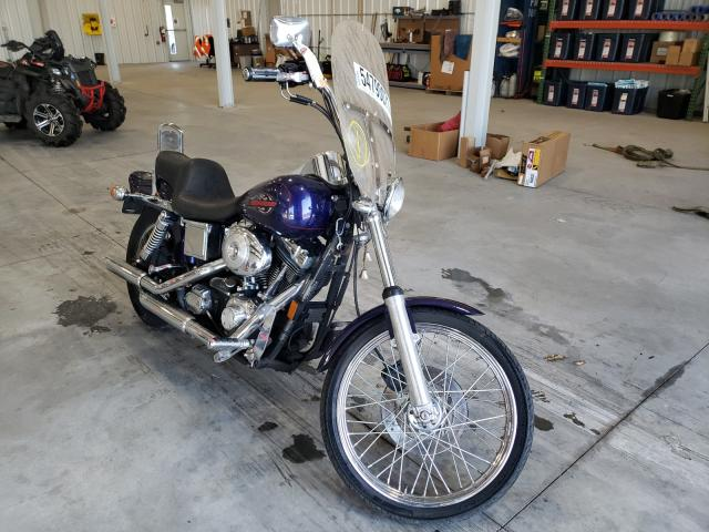 Salvage cars for sale from Copart Avon, MN: 1999 Harley-Davidson Fxdwg
