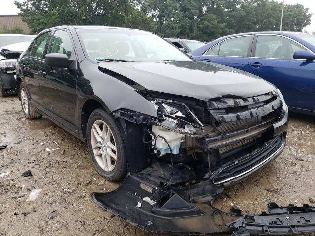 Salvage cars for sale from Copart Billerica, MA: 2012 Ford Fusion S