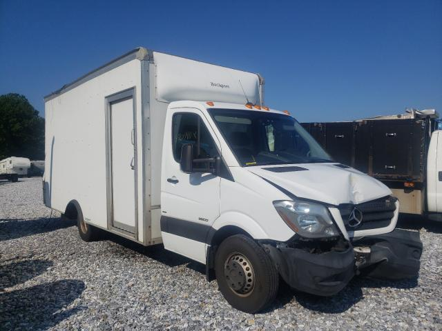 Salvage trucks for sale at York Haven, PA auction: 2016 Mercedes-Benz Sprinter 3