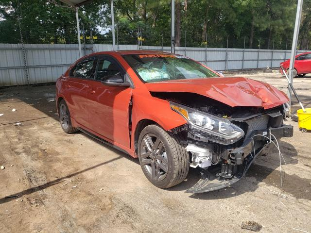 Salvage cars for sale from Copart Austell, GA: 2021 KIA Forte GT L