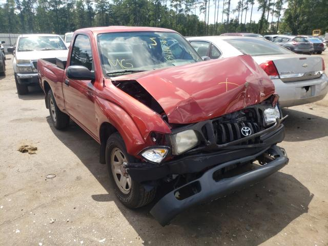 Salvage trucks for sale at Harleyville, SC auction: 2003 Toyota Tacoma
