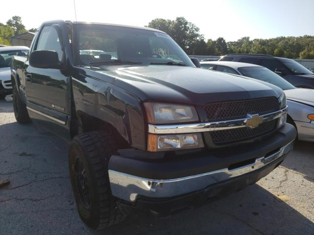 Salvage cars for sale from Copart Rogersville, MO: 2005 Chevrolet Silverado