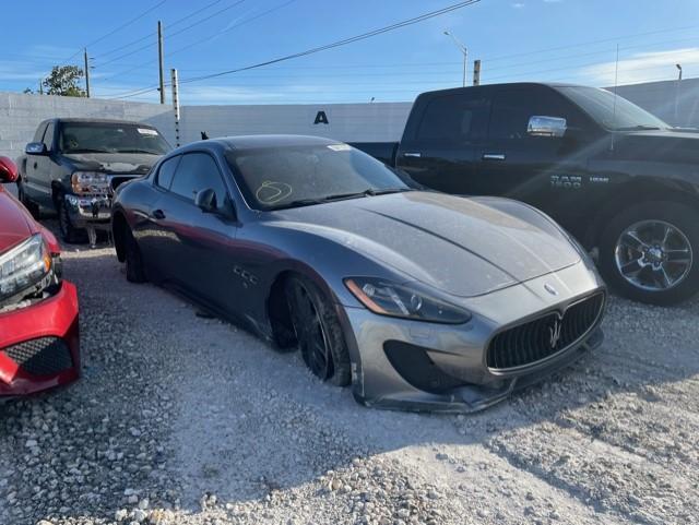 Salvage cars for sale from Copart Homestead, FL: 2013 Maserati Granturismo