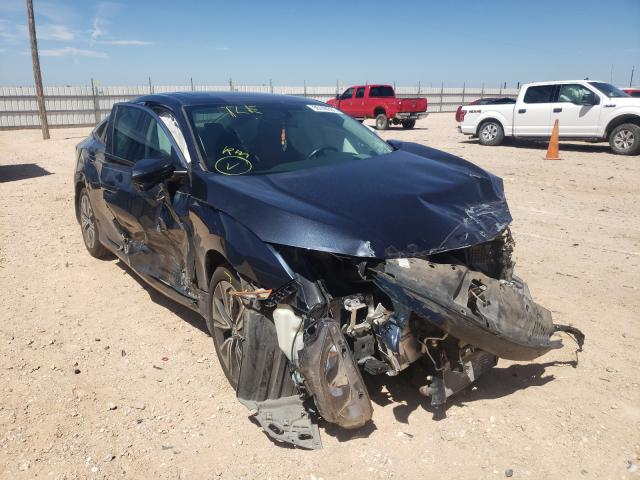 Salvage cars for sale from Copart Andrews, TX: 2018 Honda Civic EX