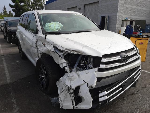 Vehiculos salvage en venta de Copart Rancho Cucamonga, CA: 2019 Toyota Highlander