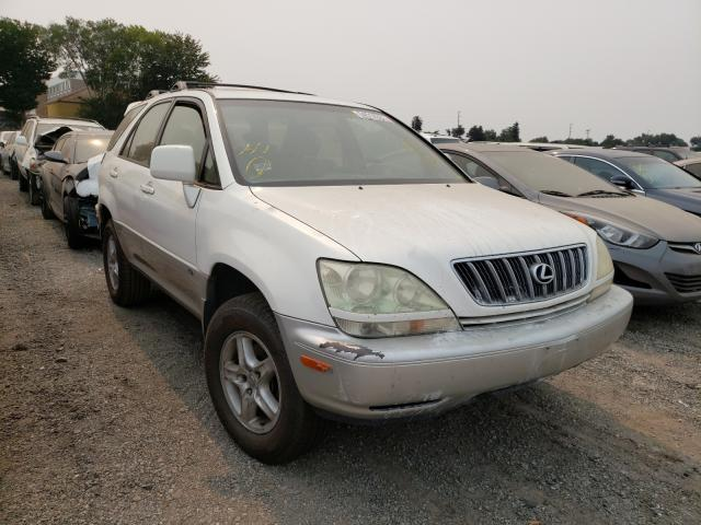 Salvage cars for sale from Copart San Martin, CA: 2002 Lexus RX 300