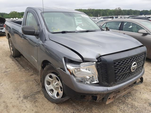 Salvage cars for sale at Conway, AR auction: 2017 Nissan Titan S