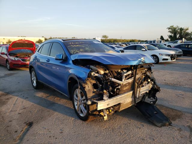 Salvage cars for sale from Copart Orlando, FL: 2016 Mercedes-Benz GLA 250
