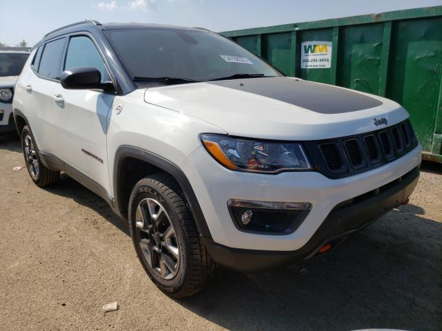 Salvage cars for sale from Copart Pekin, IL: 2018 Jeep Compass TR
