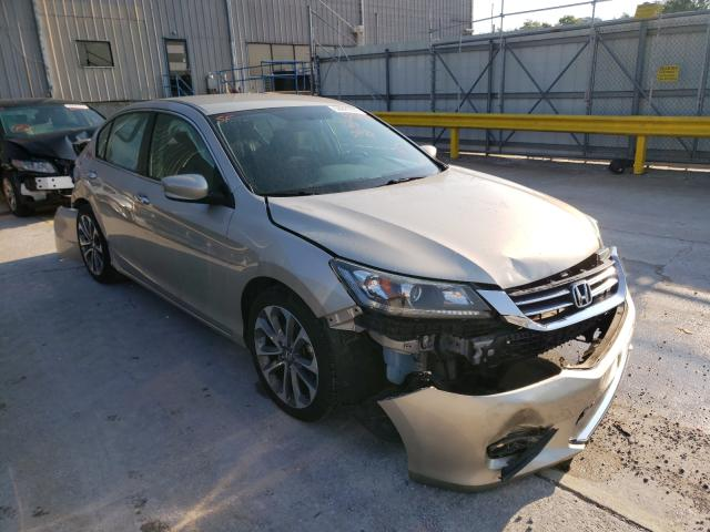 Salvage cars for sale from Copart Lawrenceburg, KY: 2014 Honda Accord Sport