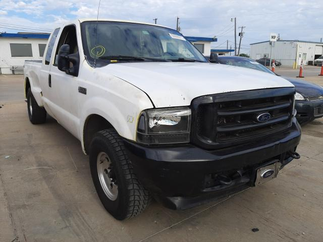 Salvage cars for sale from Copart Grand Prairie, TX: 2002 Ford F250 Super