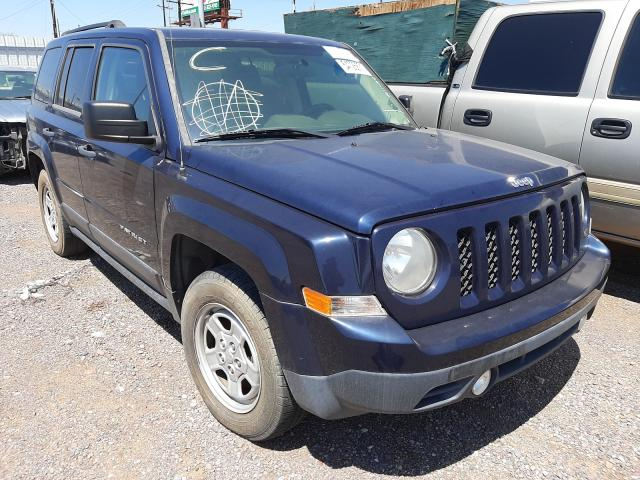 Salvage cars for sale from Copart Phoenix, AZ: 2014 Jeep Patriot SP