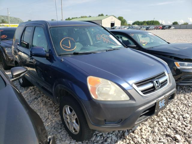 Salvage cars for sale from Copart Lawrenceburg, KY: 2004 Honda CR-V