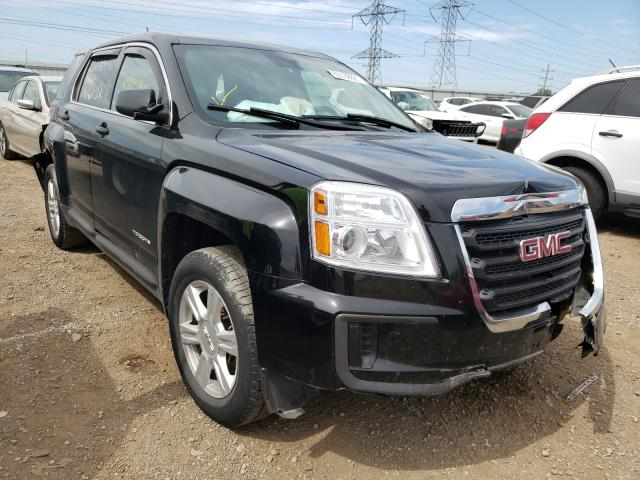 Salvage cars for sale at Elgin, IL auction: 2016 GMC Terrain SL