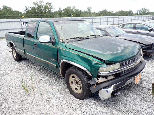 Salvage cars for sale from Copart Spartanburg, SC: 2000 Chevrolet Silverado