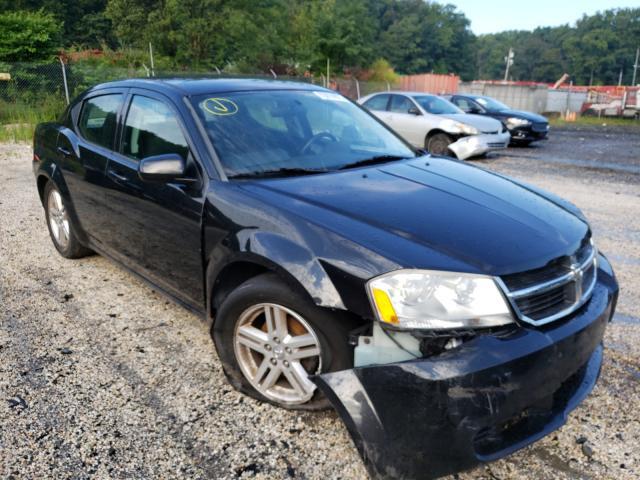 Vehiculos salvage en venta de Copart Finksburg, MD: 2010 Dodge Avenger EX