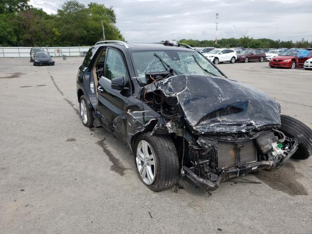 Salvage cars for sale from Copart Glassboro, NJ: 2012 Mercedes-Benz ML 350 4matic