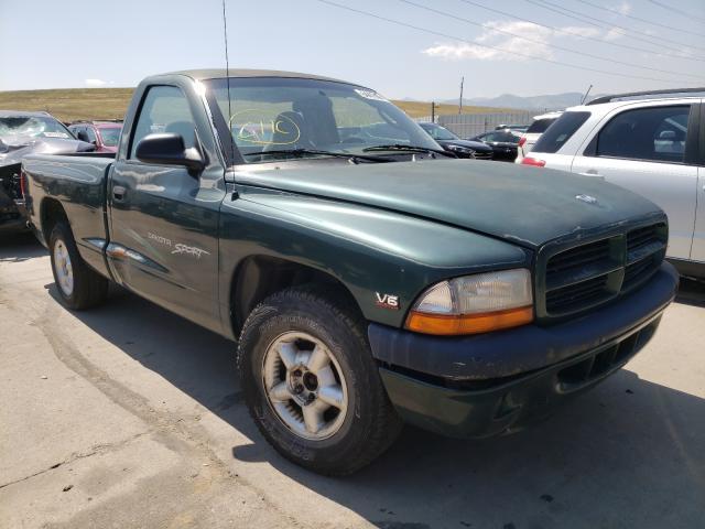 Dodge salvage cars for sale: 2000 Dodge Dakota