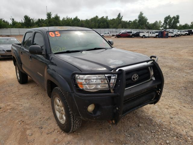 Salvage cars for sale from Copart Oklahoma City, OK: 2005 Toyota Tacoma DOU