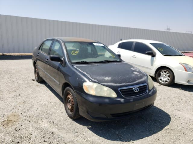 Salvage cars for sale from Copart Adelanto, CA: 2006 Toyota Corolla CE