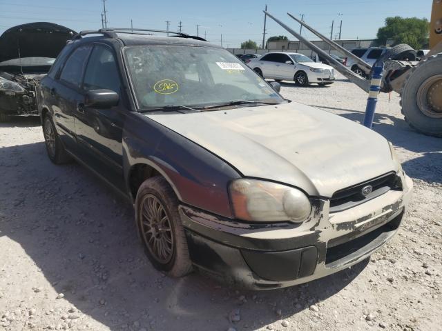 2005 Subaru Impreza OU en venta en Haslet, TX